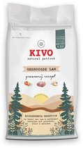 KIVO Petfood Graanvrije hondenbrokken-4 kg-Gedroogde lam met groenten-fruit & kruiden!