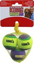 Kong hond Crunch-air tennisbal, small net a 3 stuks