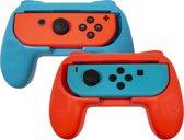 Qware Gaming Grips geschikt voor Nintendo Switch - Blauw/Rood