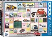VW kever, Beetle  (auto puzzel, 1000 stukjes)
