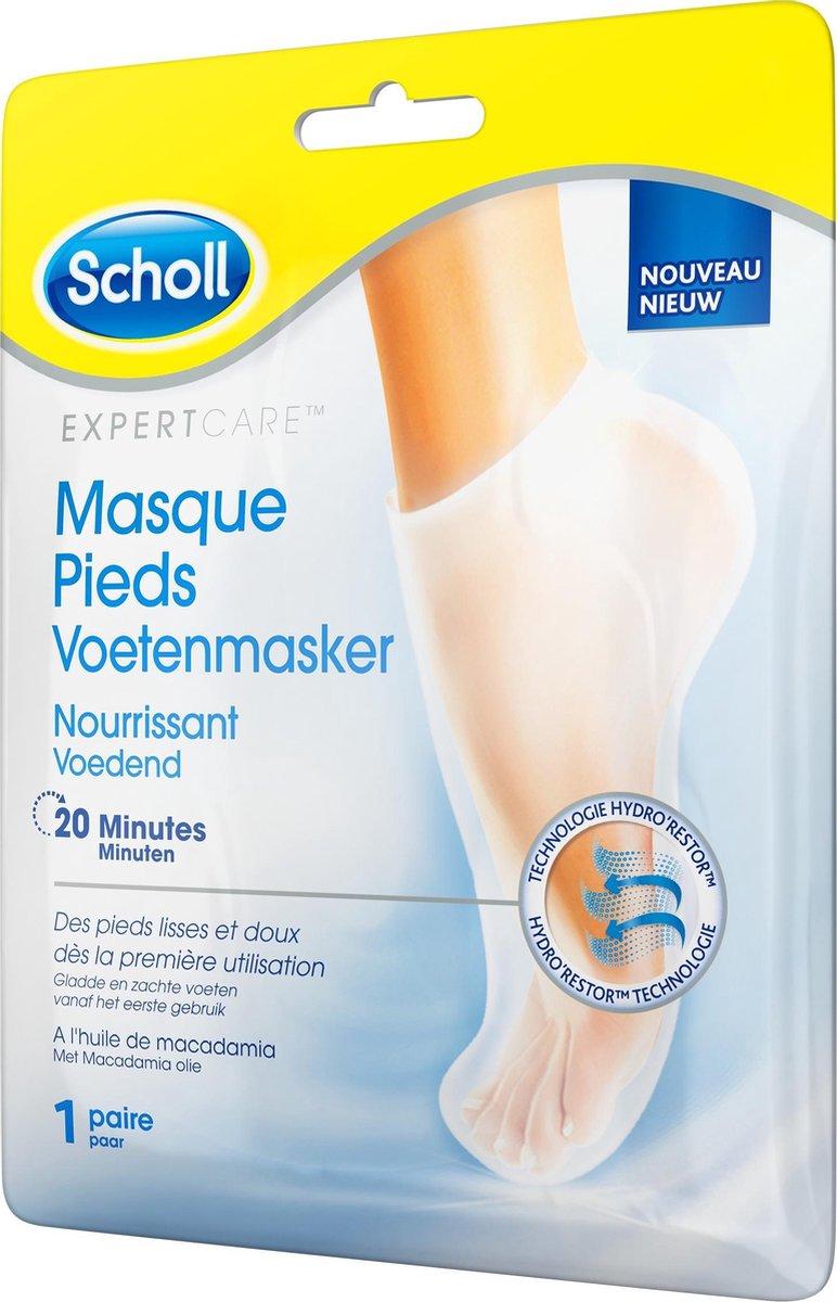 Scholl Voetenmasker - Voetencreme - Voedend - Expert Care - 1 paar