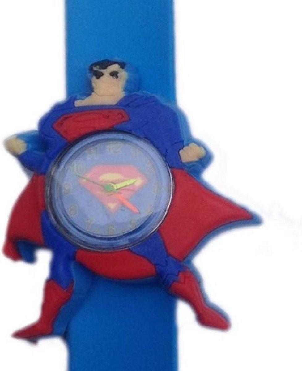 Superman horloge met een slap on bandje