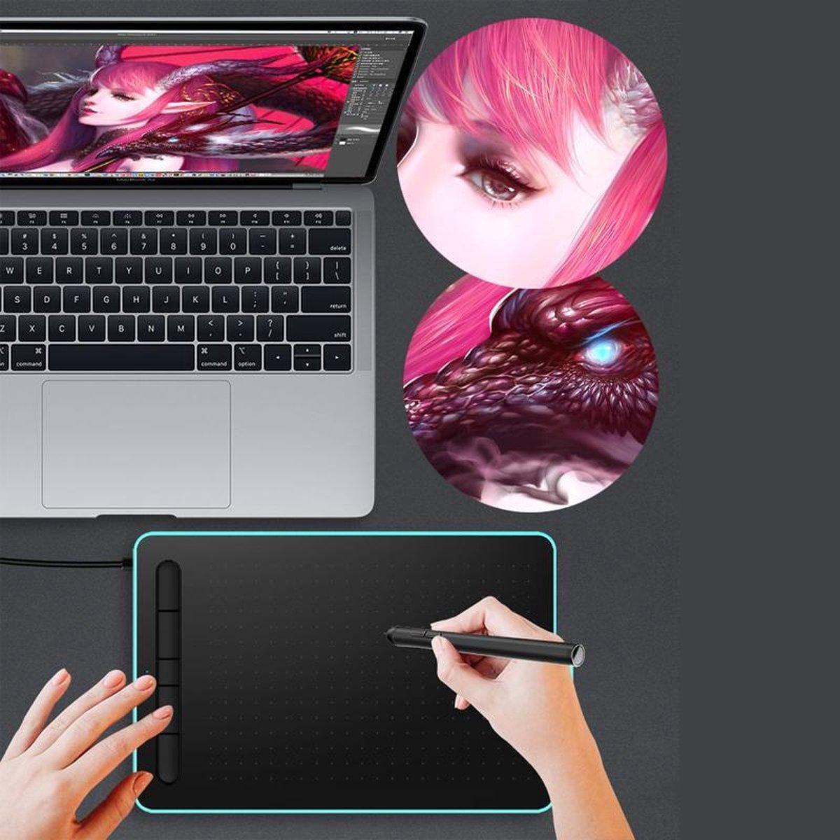 Grafische Tablet - Tekentablet - Grafisch Design Tablet - Teken Tablet - Digitale Grafische Tablet - Digitaal Tekenen - Grafisch Ontwerp Tablet