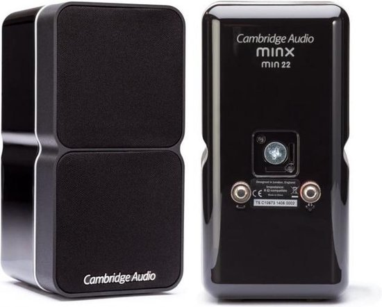 Cambridge Audio Minx Min 22 Zwart (per stuk)