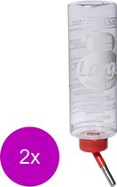Classic Drinkfles Konijn Plastic - Waterfontein - 2 x 600 ml