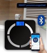 Media-Tech SMART personenweegschaal - met volledige Lichaamsanalyse - met Bluetooth en App - Gewicht, BMI, Hydratatie, Lichaamsvet