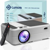 Lumora – Mini Beamer Wifi – Compact – Projector- 3800 Lumen – HD - Inclusief HDMI Kabel – Afstandsbediening – Mini Projector - Beamer – Wit