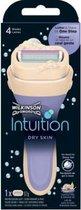 Wilkinson Houder Intuition Dry Skin Cocos & Almond + 1 mesje