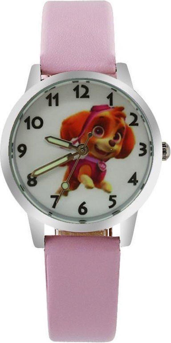 Paw Patrol horloge Skye met glow in the dark wijzers