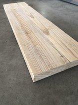 Steigerhouten plank, Steigerplank 100cm (2x geschuurd)   Steigerhout Wandplank   Steigerplanken   Landelijk   Industrieel   Loft   Hout  