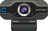 Cresta C Smart CPW310 HD 1080P USB Webcam - Ingebouwde microfoon - Zwart