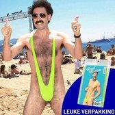 MikaMax - Borat Mankini - Original - Orgineel - Groen