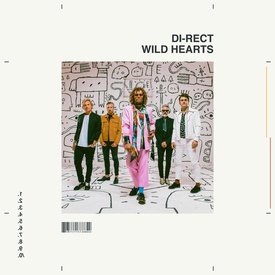CD cover van Wild Hearts van Di-Rect