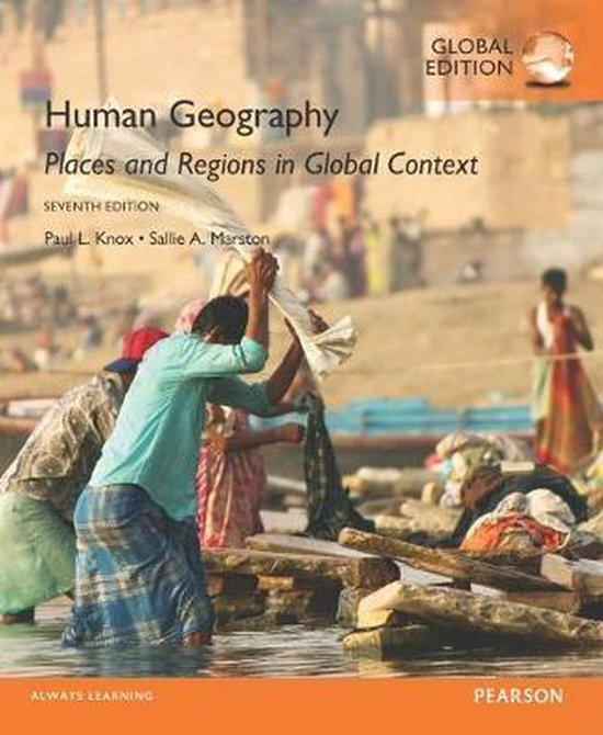 Boek cover Human Geography van Paul L Knox (Paperback)