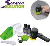 Scratch Solution, elektrische krasverwijderaar inclusief autostofzuiger – autoreparatieset