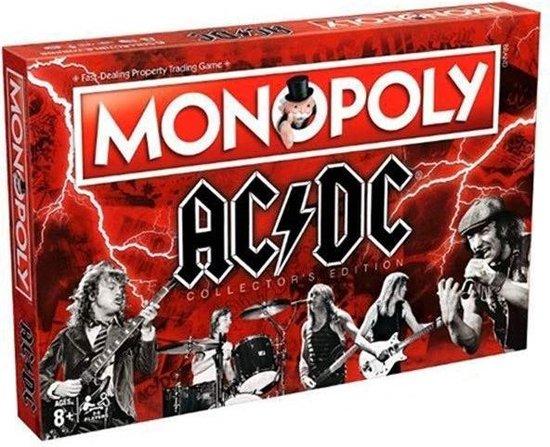 Afbeelding van het spel Monopoly - AC/DC - Collector's Edition