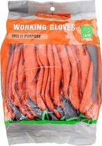 Werkhandschoenen 10 stuks - Werckmann Handschoenen 10stuks - Anti Slip Grip Werkhandschoenen - Anti-Slip Handschoenen