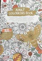 Kleurboek voor Volwassenen 'Bij' Goud 160 kleurplaten – Dieren  Bloemen Bij - Adult Colouring