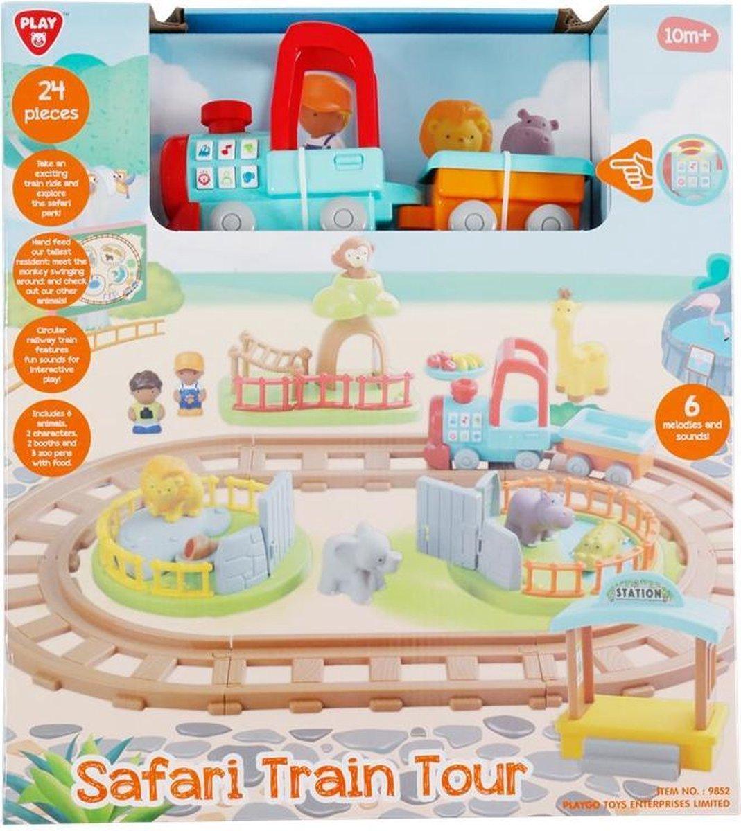 Safari trein - Trein - Safari - Dieren - Spelen