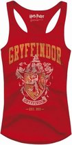 HARRY POTTER - T-Shirt Top Tank Gryffindor Old School - GIRL (L)