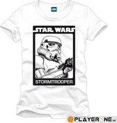 STAR WARS - T-Shirt Stormtroopers White (XXL)