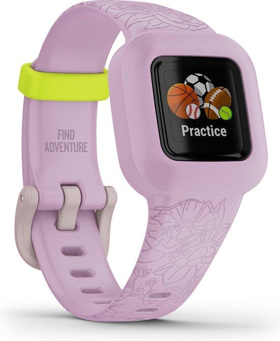 Garmin Vivofit jr. 3 - Activity tracker - Lilac Floral