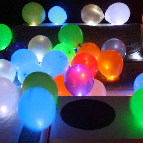 Lichtgevende LED Ballonnen (5 stuks) - 5 Verschillende kleuren - Verjaardag - Feestje