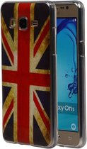 Wicked Narwal   Britse Vlag TPU Hoesje voor Samsung Galaxy On 5 UK