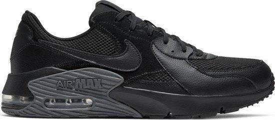 Nike Air Max Excee Heren Sneakers - Black/Black-Dark Grey - Maat 44.5