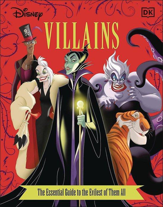 Boek cover Disney Villains the Essential Guide, New Edition van Glenn Dakin (Hardcover)