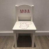 Kinderstoeltje met eigen naam Nijntje - Roze