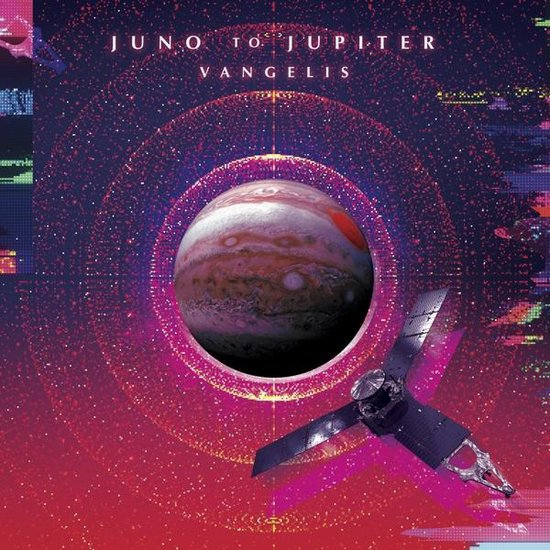 CD cover van Juno to Jupiter van Vangelis