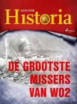 Boek cover De grootste missers van wo2 van Alles Over Historia (Onbekend)