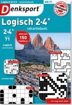 Denksport Logisch 2-4* vakantieboek editie 71