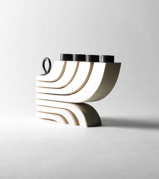 Design House Stockholm Nordic Light 4 kandelaar wit