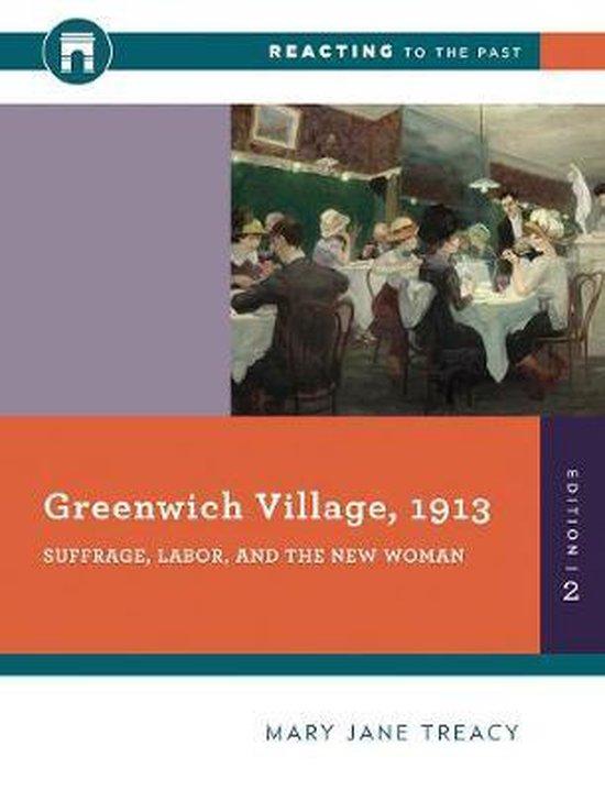 Boek cover Greenwich Village, 1913 van Mary Jane Treacy (Paperback)