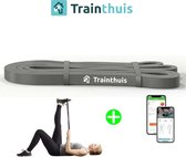 Trainthuis fitness elastiek - Weerstandsband - Resistance band - Fitness elastiek set