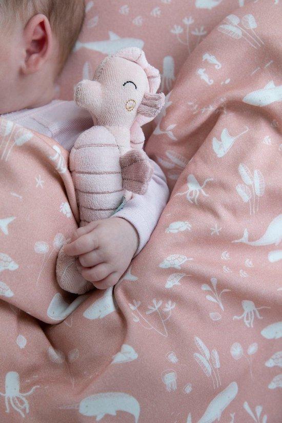 Little Dutch Rammelaar Zeepaardje - Ocean pink