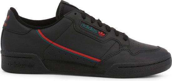 Adidas Heren Lage sneakers Continental 80 Men - Zwart - Maat 40