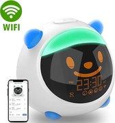 HappyKids Slaaptrainer Met Smartphone App - Dimbaar Nachtlampje - Blauw