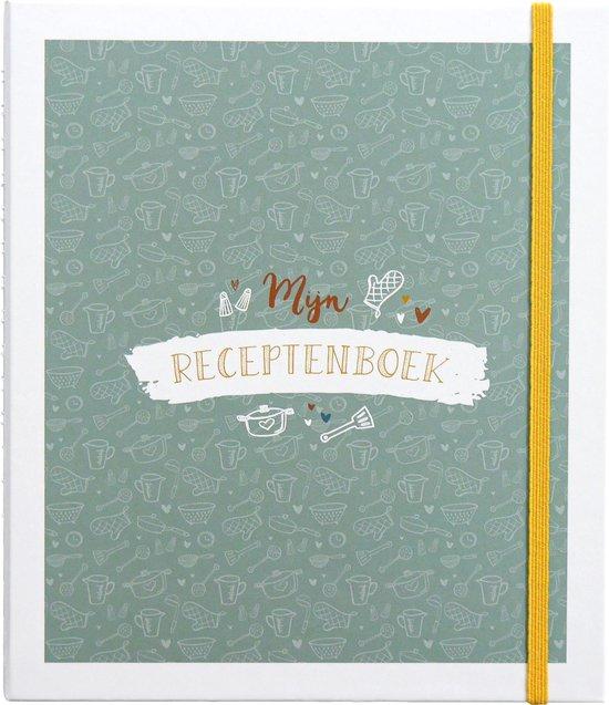 Afbeelding van Mijn receptenboek - invulboek om recepten in te schrijven - inclusief stickervel