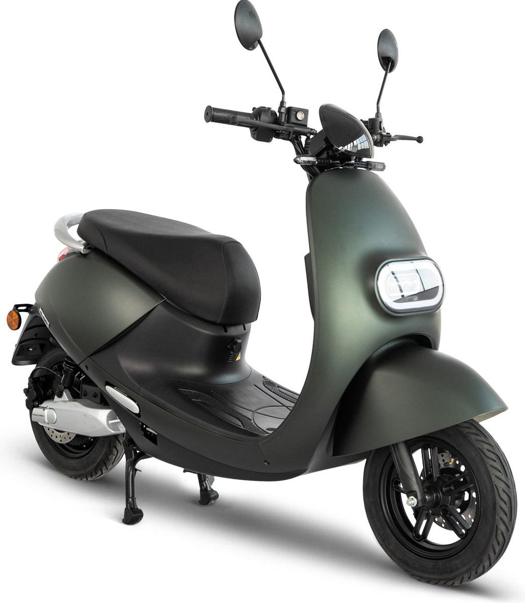 IVA E-GO S3 Elektrische Scooter Matgroen
