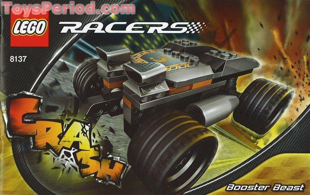 Lego Racers 8137 - Booster Beast