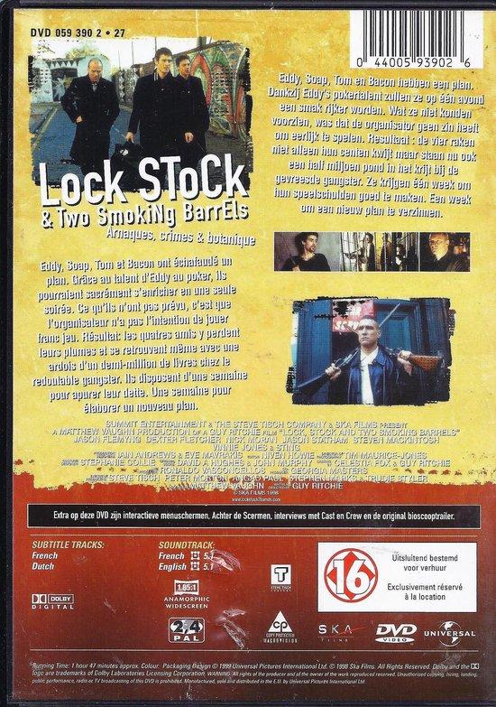 Cover van de film 'Lock, Stock and two Smoking Barrels'