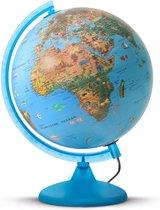 ARCA Wereldbol Globe met verlichting - 25 cm