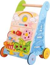 Bigjigs Baby - Activiteiten Loopwagen 'Bloemen'