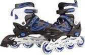 Inline Skates Blauw/Zwart, maat 35-38