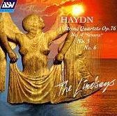 Haydn: String Quartets Op 76 nos 4,5 & 6 / The Lindsays