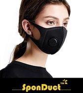 SponDuct® 3D Filter Mask - Mondmasker - OV - Mondkapje - Wasbaar - Mond Maskers