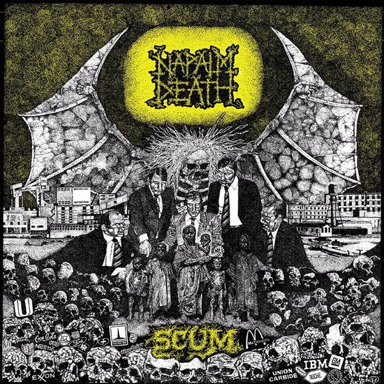 CD cover van Scum -Reissue- (LP) van Napalm Death